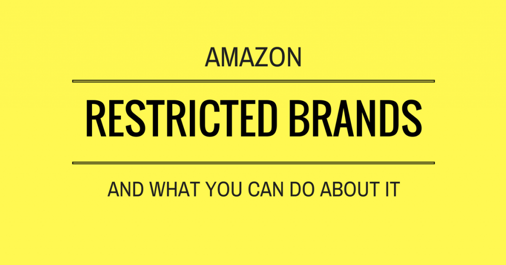 Amazon restricted brands and approval