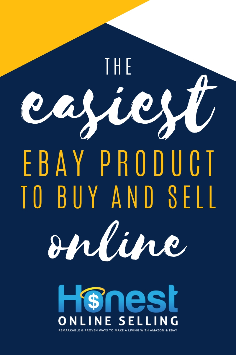 The Easiest Ebay Product To Buy And Sell Online Jordan Malik Amazon Selling Expert Bestselling Author