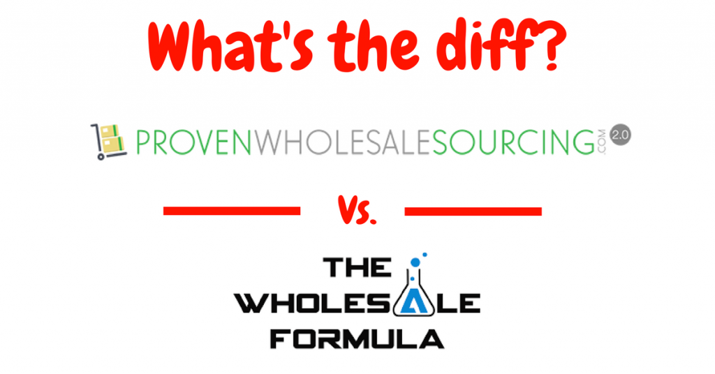 compare proven amazon course wholesale formula