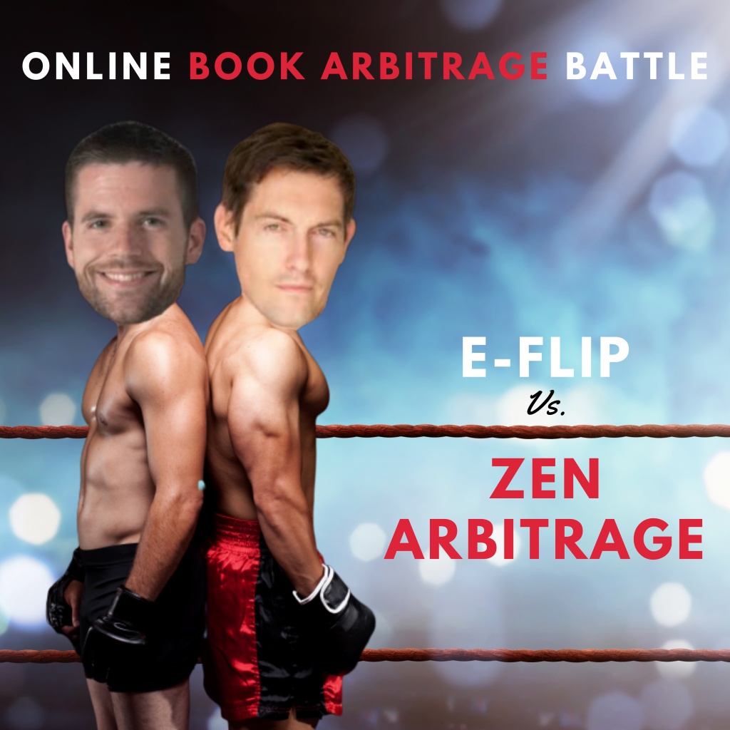 eFlip vs. Zen Arbitrage onilne book sourcing software